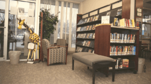 Photograph East Forest Park Branch Library Interior