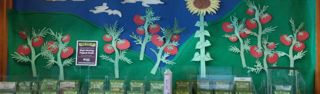 Mason Square Branch Seed Lending Library Re-Opens