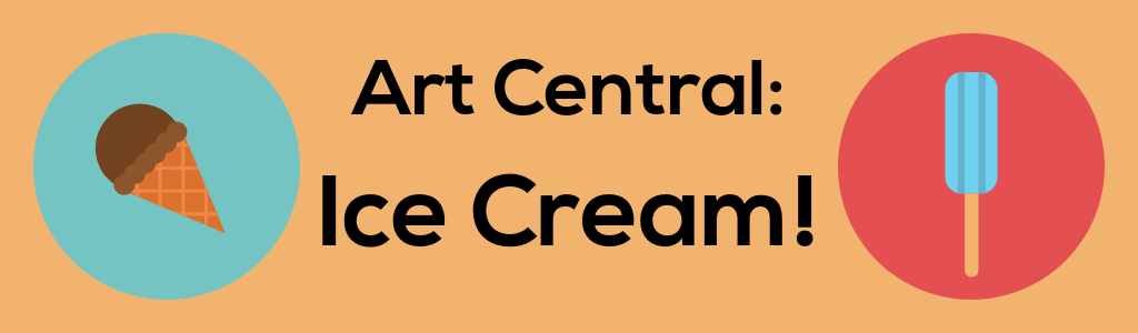 Art Central Ice Cream banner