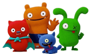 Ugly Dolls movie characters