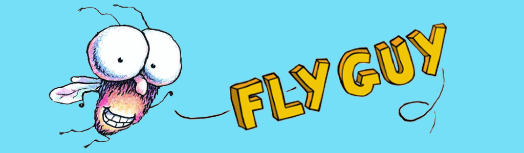 Fly Guy character banner