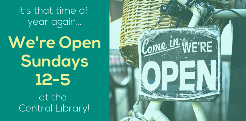 Central Library Open Sundays