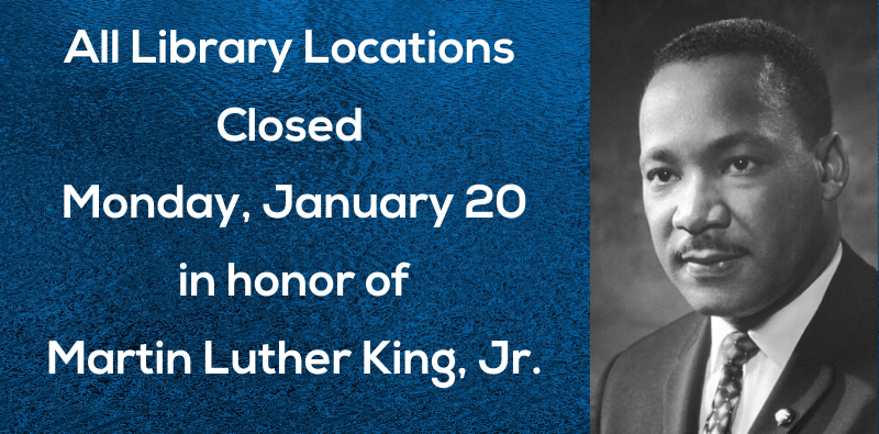 Closed for Holiday – MLK