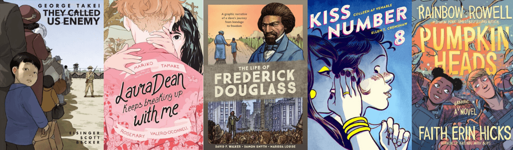YALSA Top Graphic Novels 2019