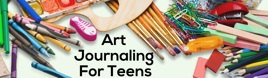 Drawn Together: Art Journaling for Teens
