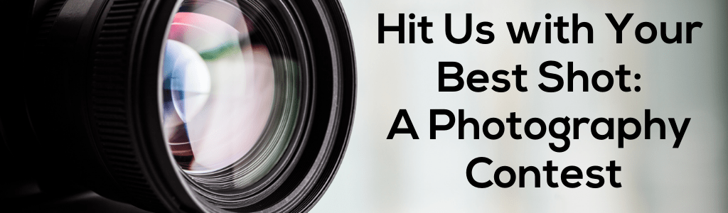 Hit Us with Your Best Shot: a Photography Contest