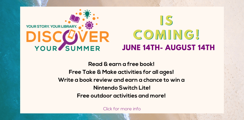 Summer Reading Club is Coming!