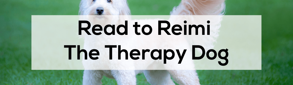 Read to Reimi the Therapy Dog