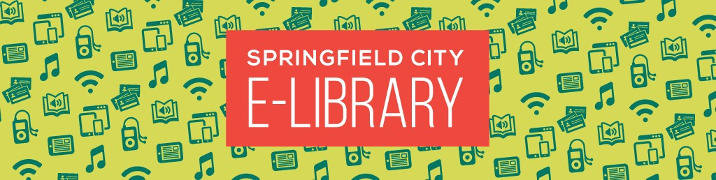 banner image Springfield City Library e-Library page